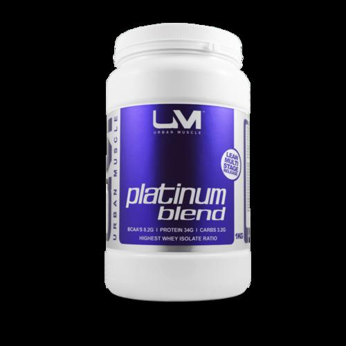 1kg Vanilla Platinum Blend Protein Powder